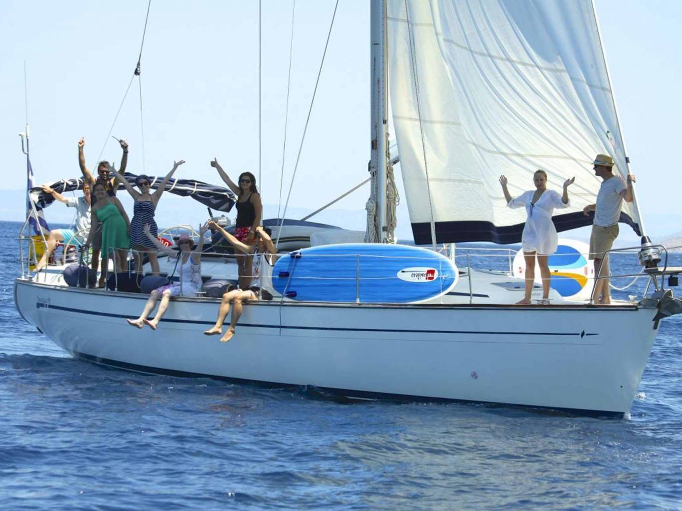 All aboard: a MedSailors yacht