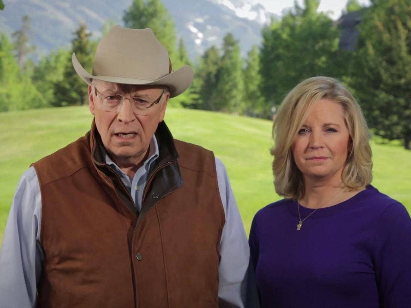 """Dick Cheney and his daughter, Liz, announce an """"Alliance for a Strong America"""""""