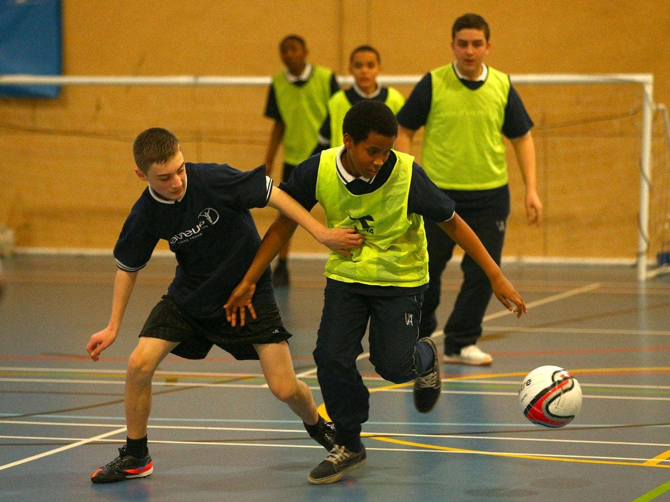 Only 13 per cent of state school heads insisted all pupils took part in competitive sports