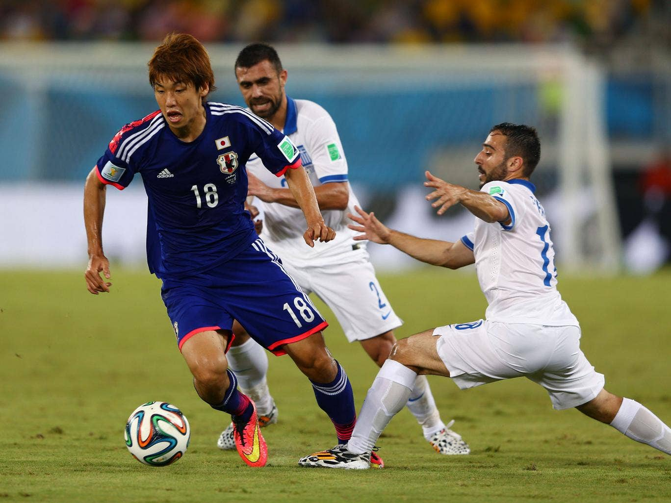 Yuya Osako: Failed to trouble a resolute Greek defence, and eventually subbed. 5