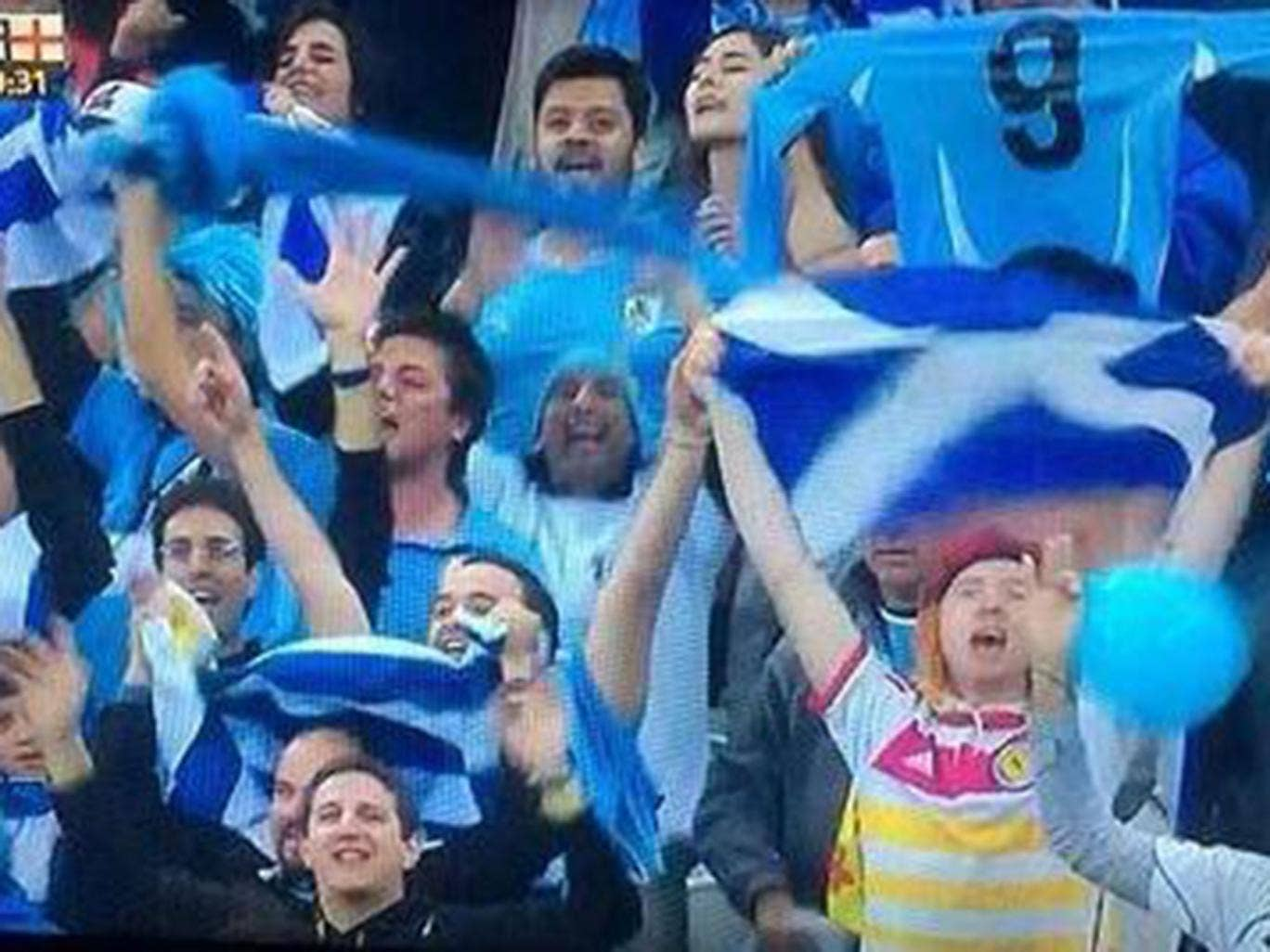 Scotland fan Mark McConville