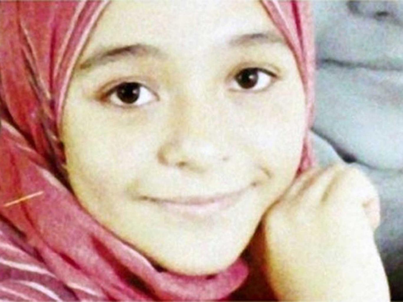 Lost girl: Suhair al-Bata'a, who died aged 13