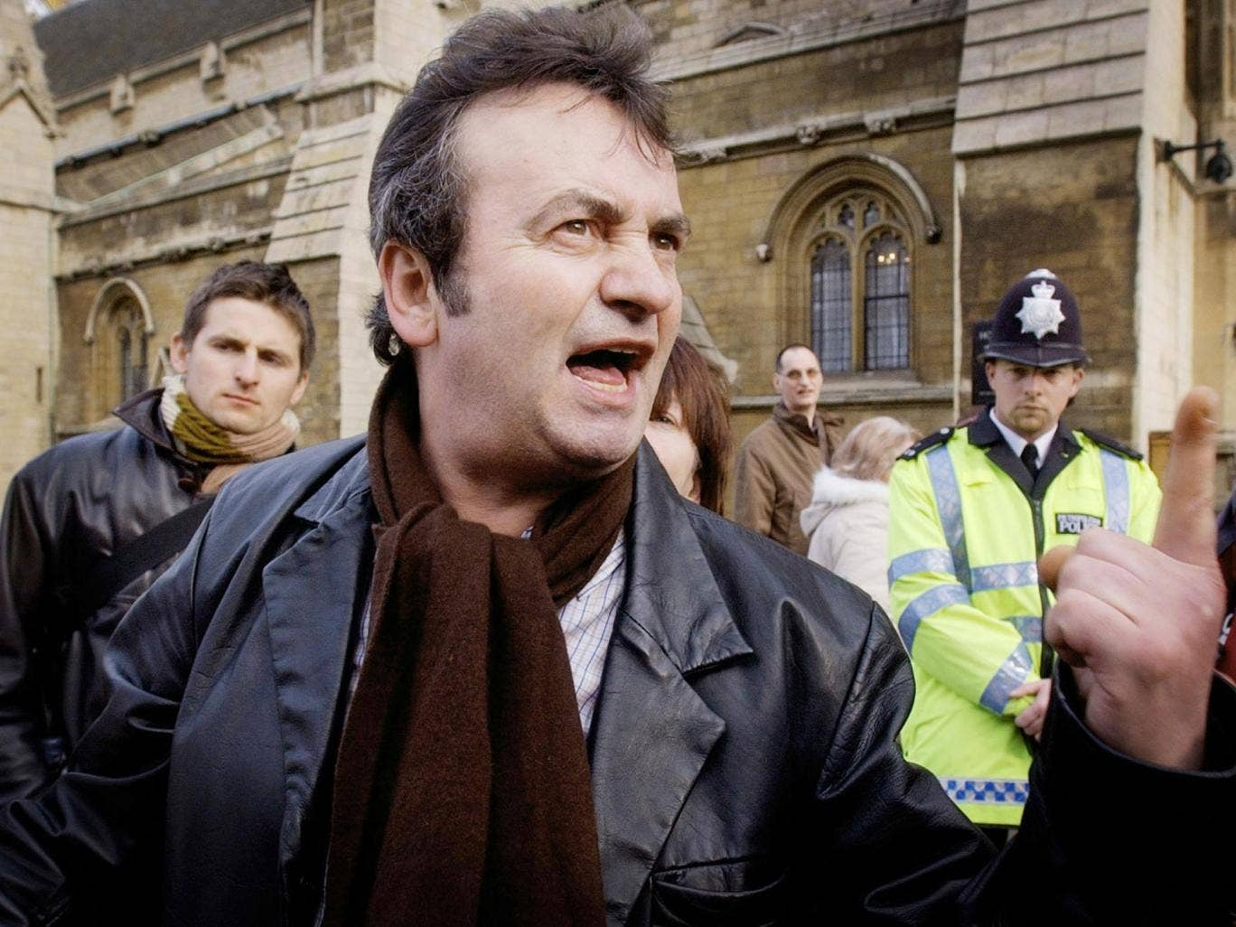 Gerry Conlon (pictured in 2005) died of cancer but had struggled since his release from jail