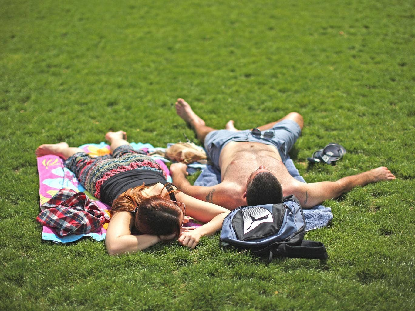 Britain experienced its third warmest spring