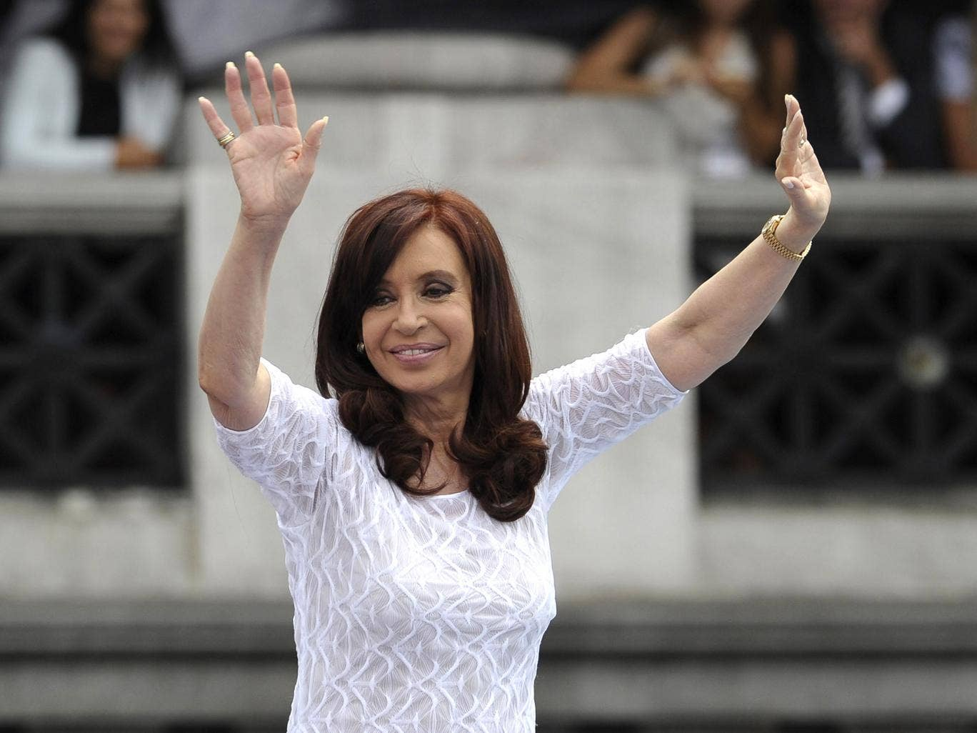 Argentina's President Cristina Fernandez de Kirchner has declared her country will not pay the 'vulture funds'