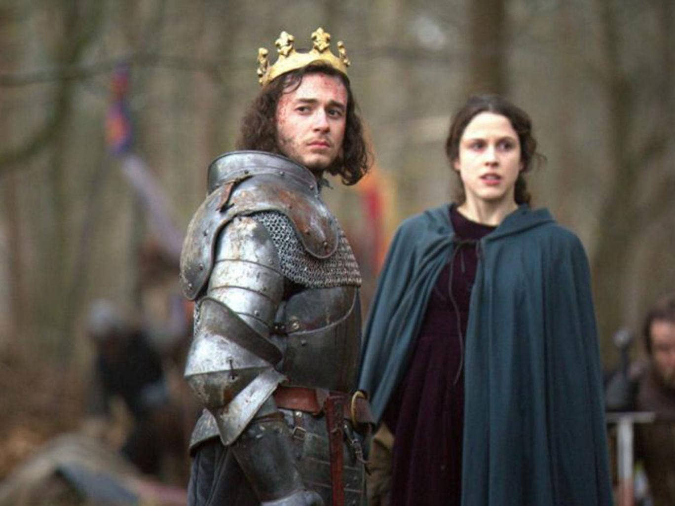 Mother courage: Margaret Beaufort as portrayed in the BBC's The White Queen