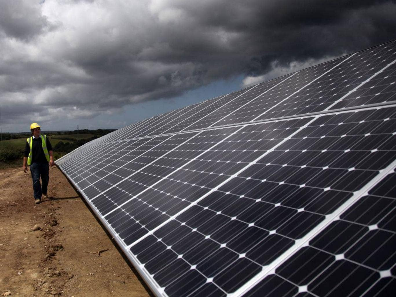 Making and maintaining solar panels will soon be cheaper than fossil fuels