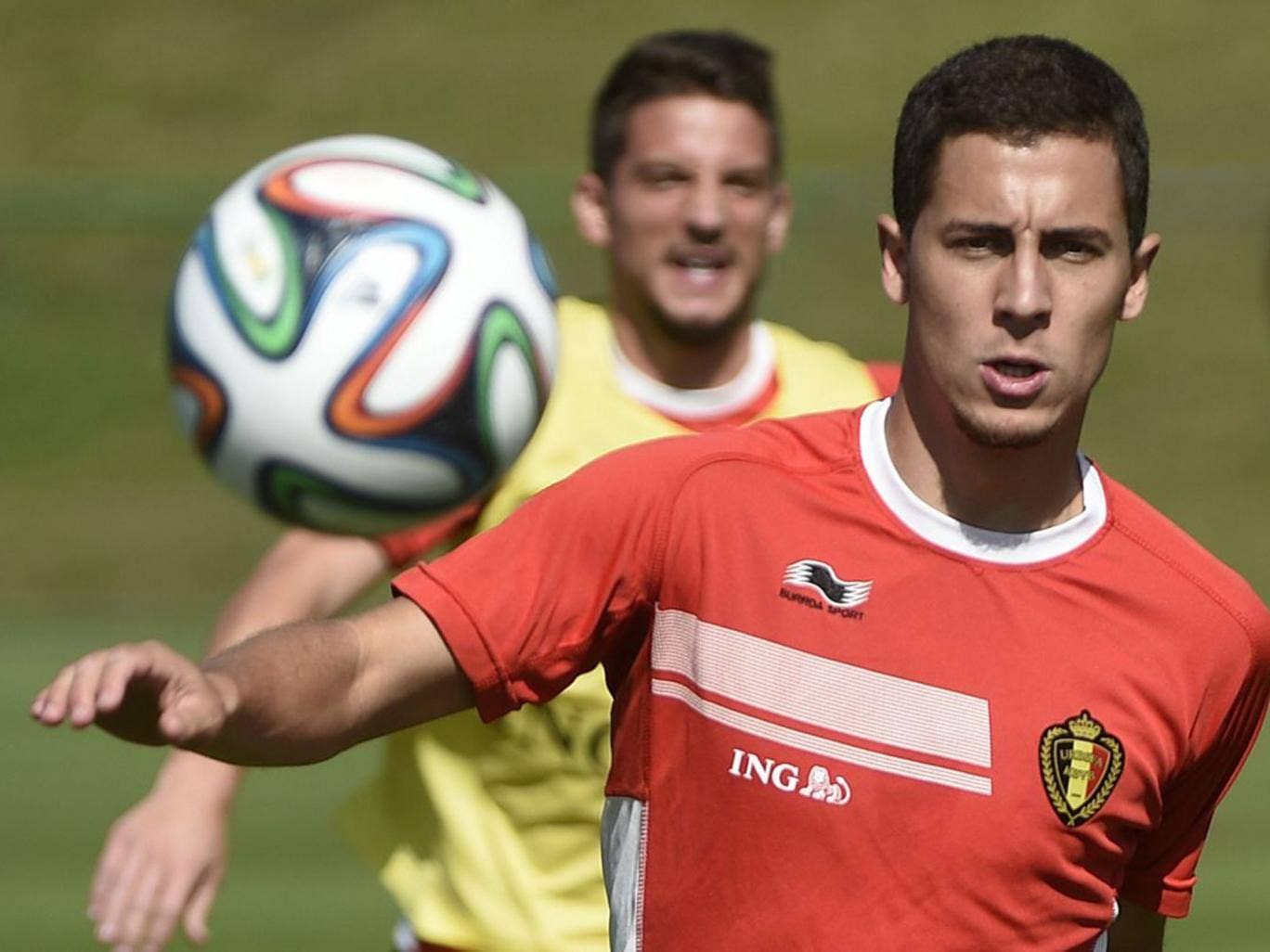 Chelsea midfielder Eden Hazard has left it late to turn on the style in both of Belgium's matches so far at this World Cup