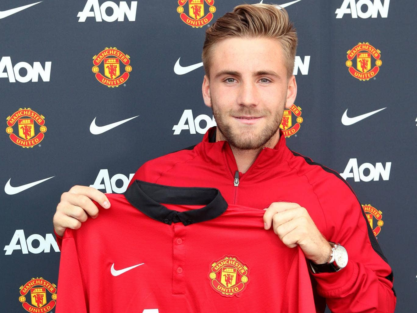 Luke Shaw has joined Manchester United