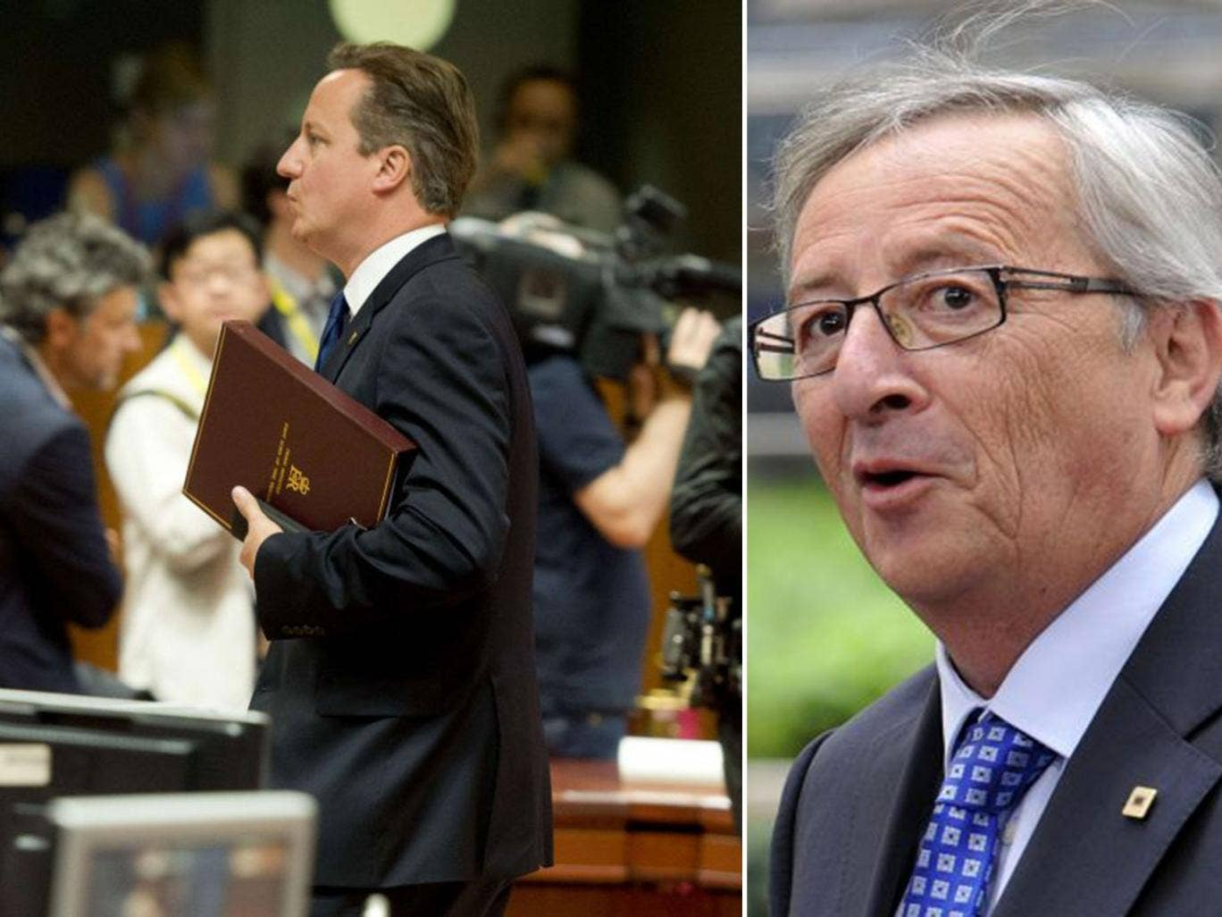 Mr Cameron's uncompromising stance over Mr Juncker has strained his relations with some of his natural allies, including Germany's Angela Merkel