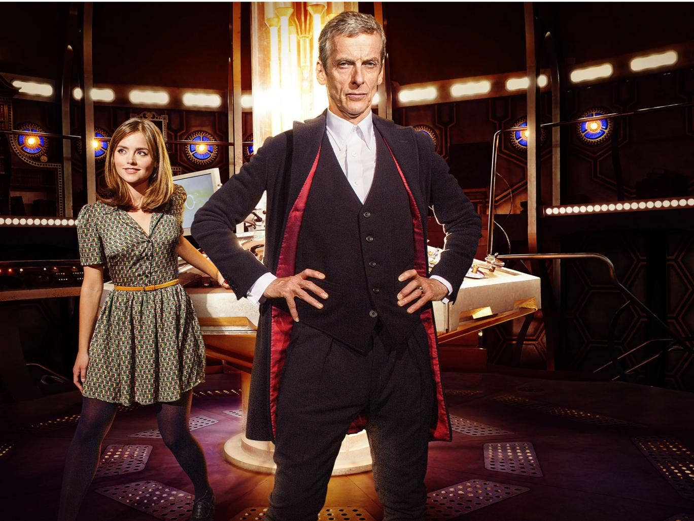 Peter Capaldi and Jenna Coleman will star in Doctor Who series 8 in August