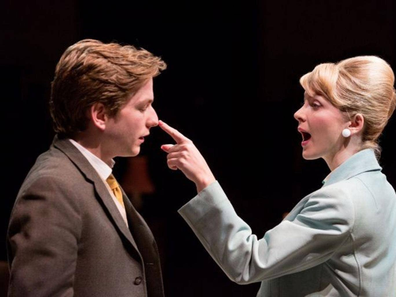 Harry McEntire as Billy Fisher and Katie Moore as Rita