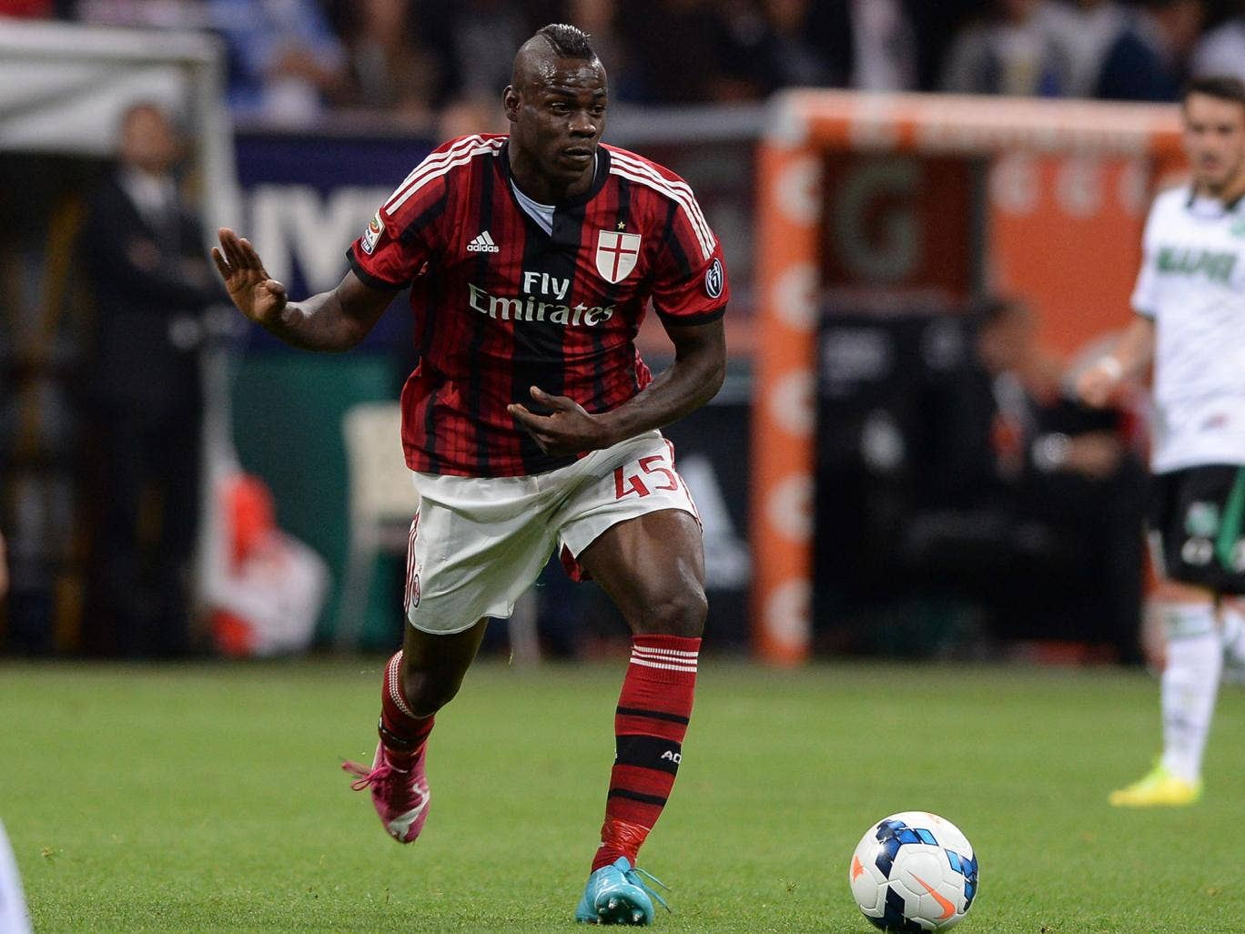 Mario Balotelli is being linked with a big-money move to Arsenal
