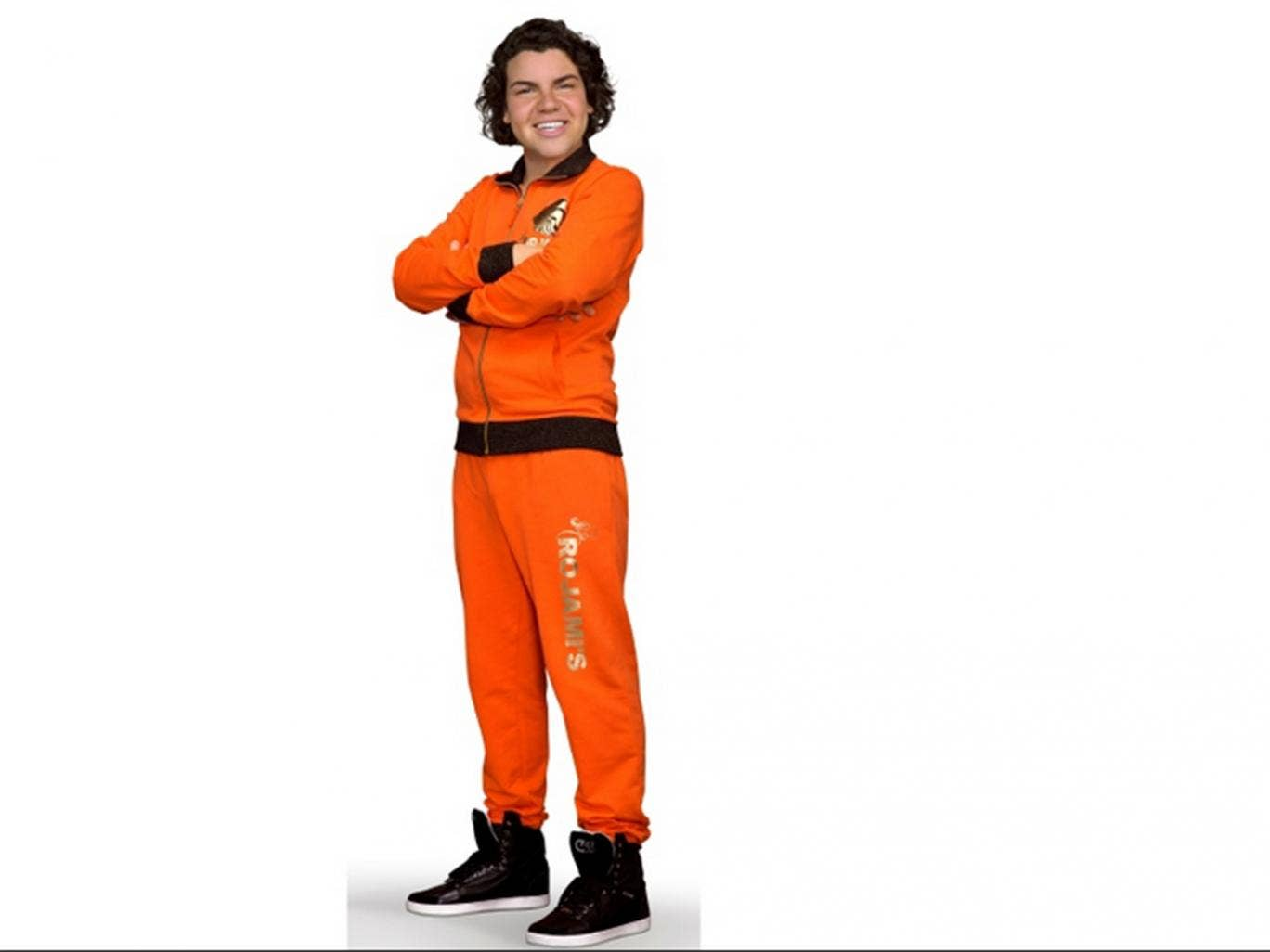 Roy Donders models the 'juichpak'