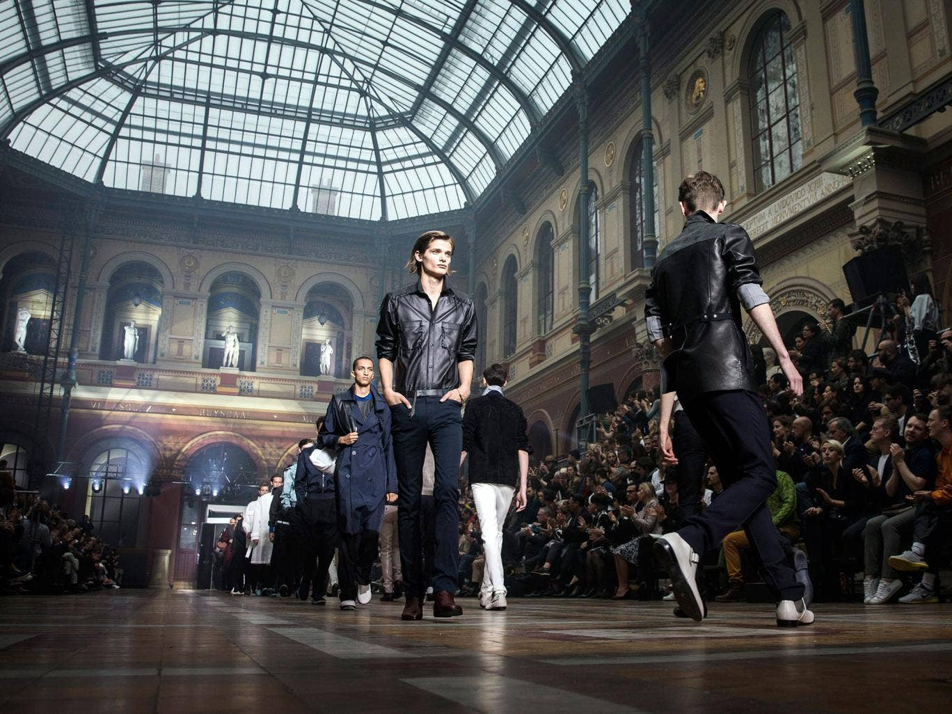 In through the out door … Alber Elbaz and Lucas Ossendrijver's menswear designs for Lanvin at Paris Fashion Week
