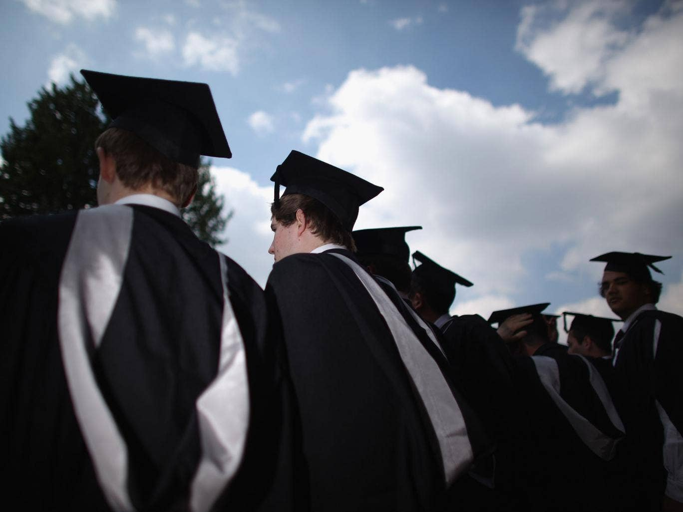 96 per cent of graduates said they had switched careers by the time they reached the age of 24