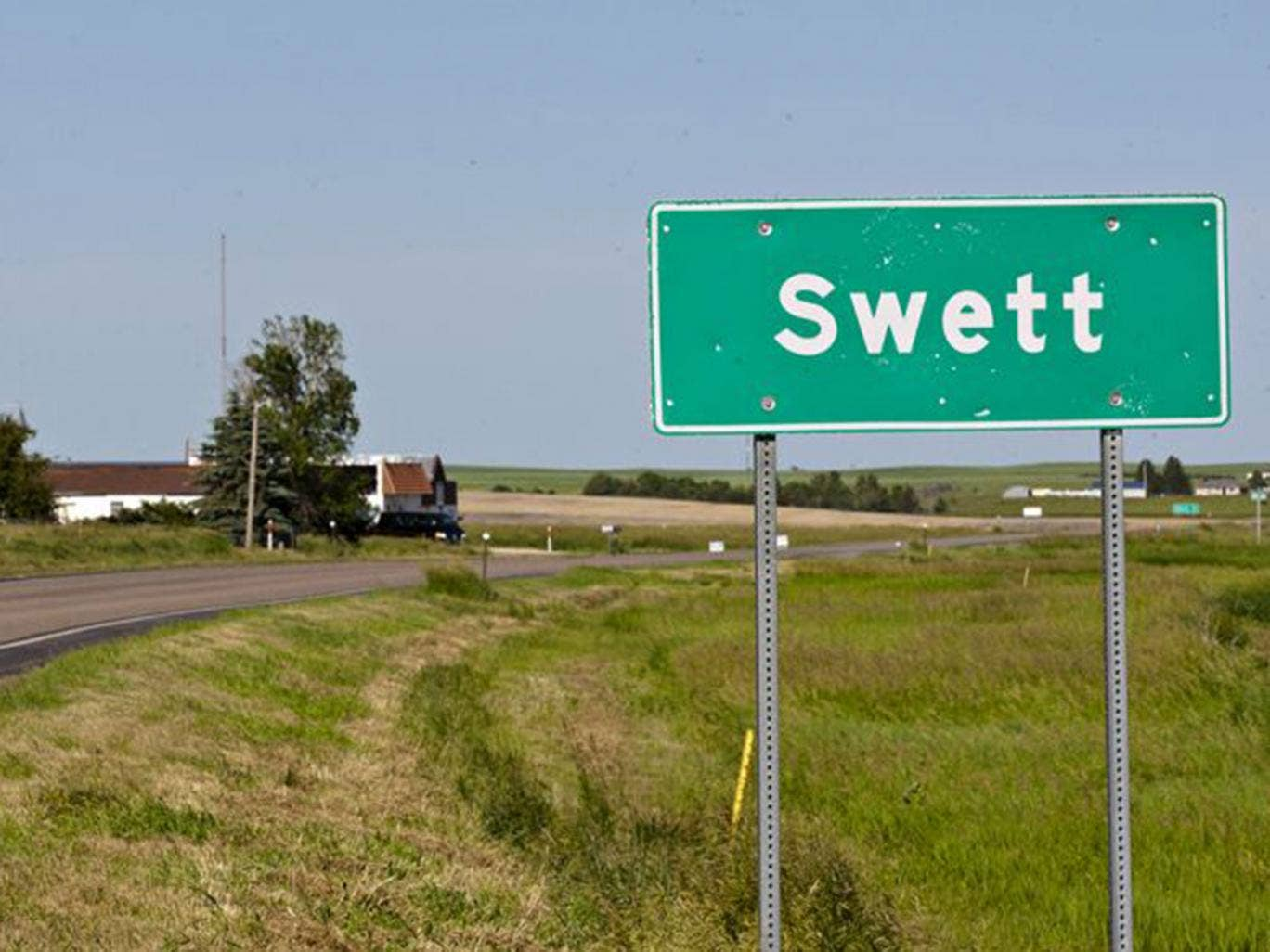 The town in South Dakota is available for just $400,000 (£234,538)