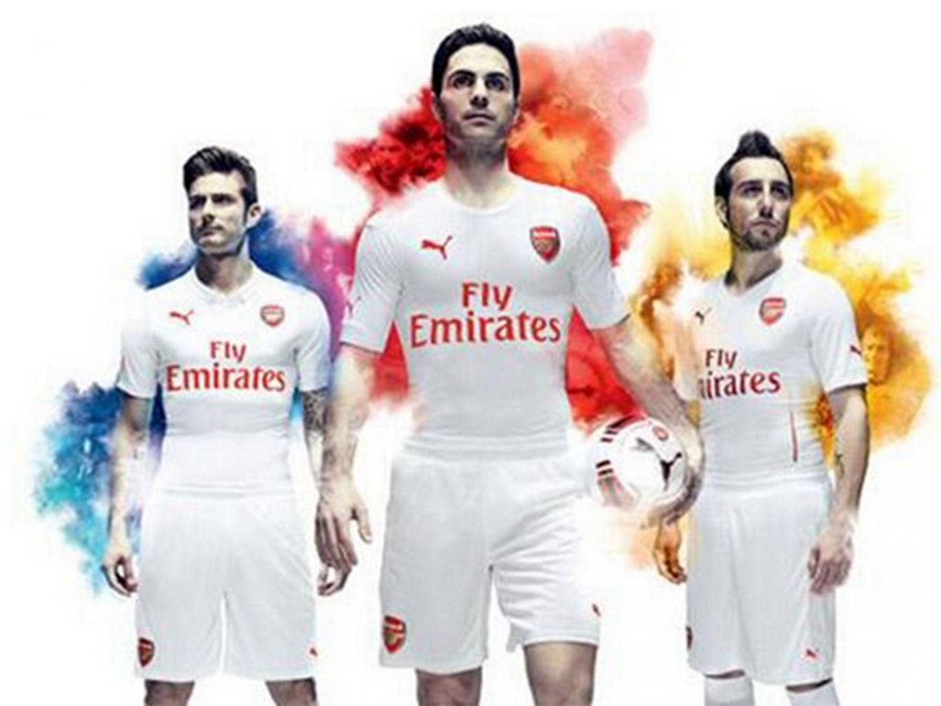 Arsenal started their new deal with sportswear brand Puma today, launching a series of teasers