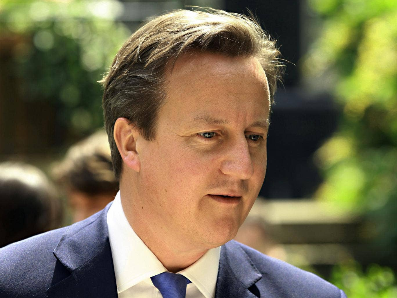 The Prime Minister might be wary of backbenchers who are hostile towards Britain pledging more to foreign aid