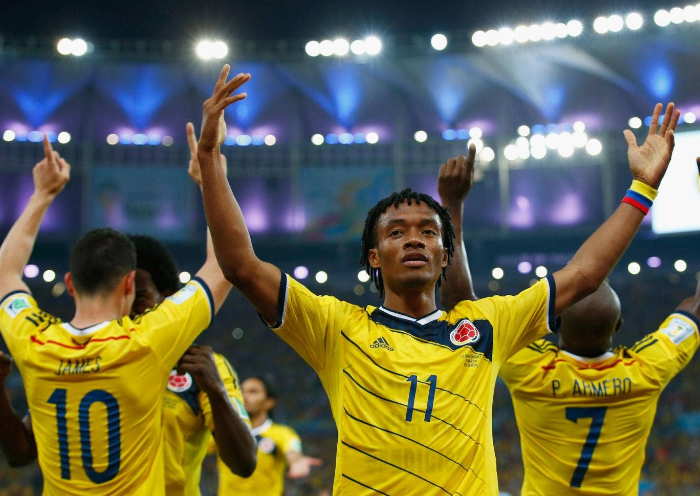 Colombia star Juan Cuadrado is a target for Manchester United