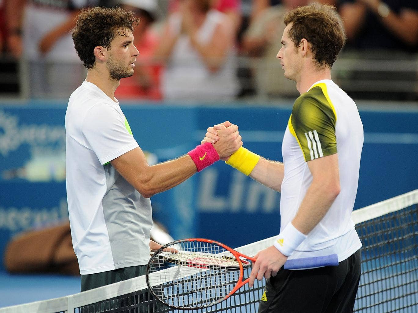 Grigor Dimitrov and Andy Murray will meet in the Wimbledon quarter-finals