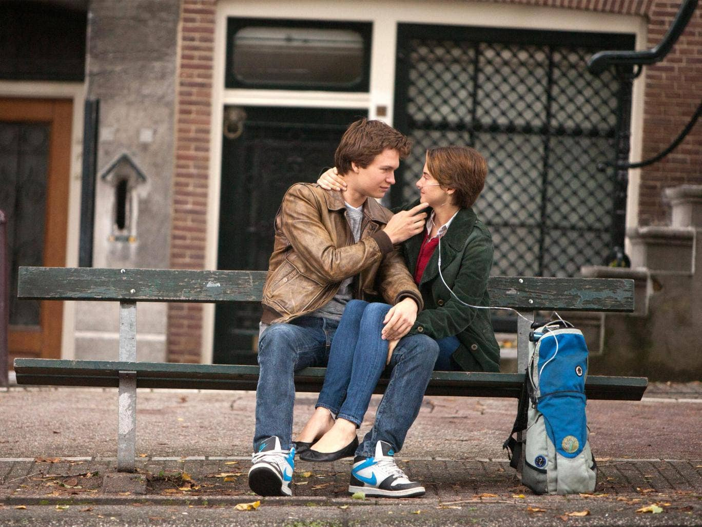 A scene from The Fault in Our Stars: John Green's sixth novel