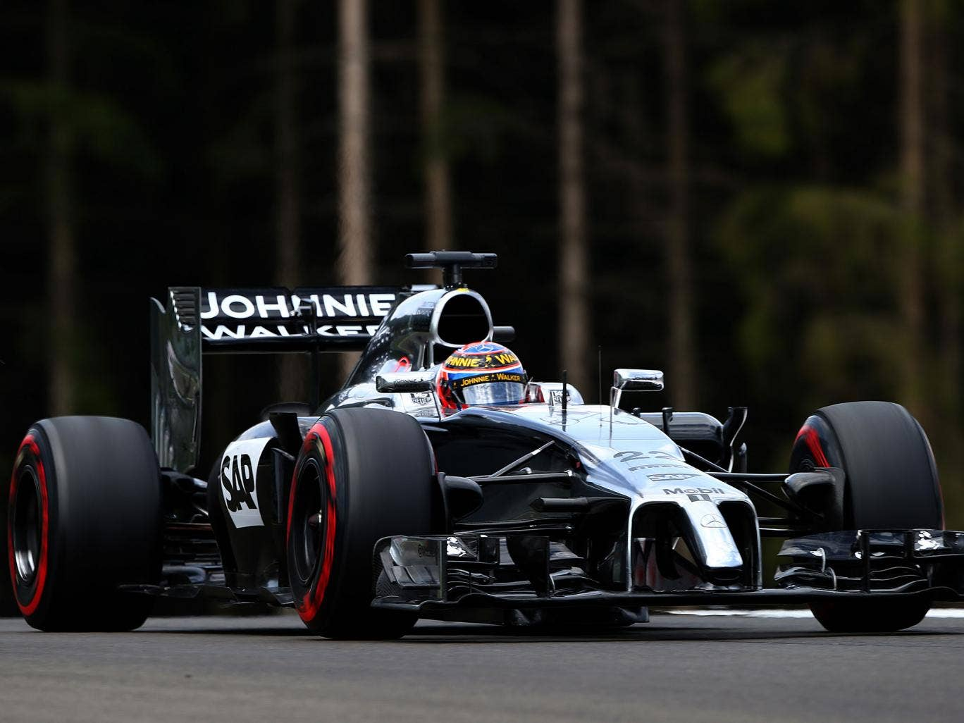 Jenson Button says he is focusing on improving McLaren's results despite his contract running out at the end of the season