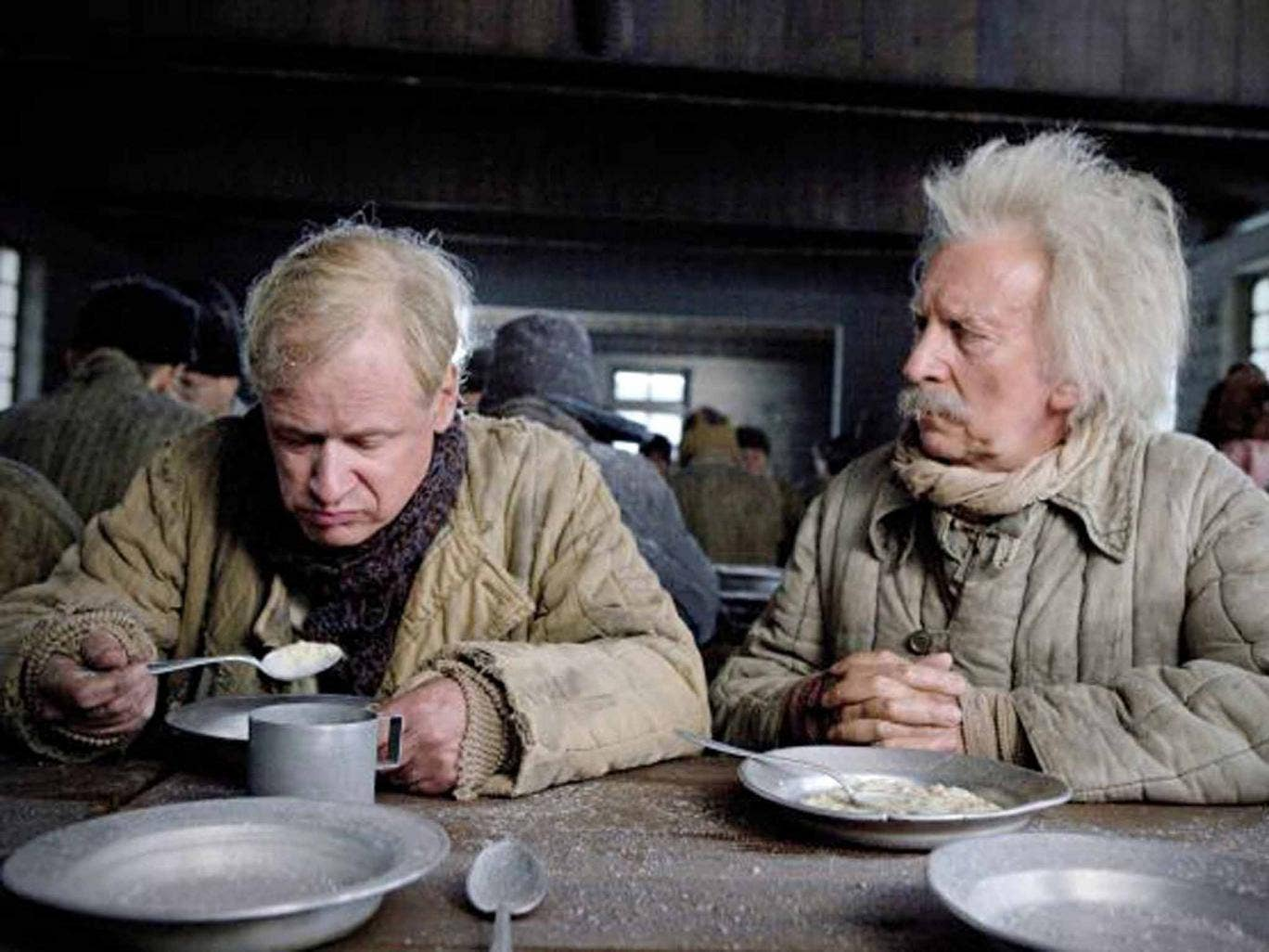 Robert Gustafsson and David Shackleton in 'The 100-Year-Old Man Who Climbed Out the Window and Disappeared'