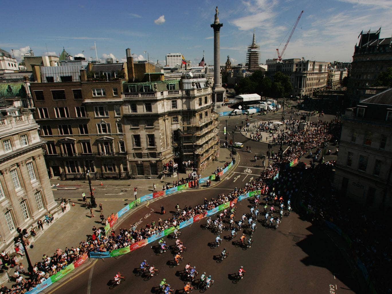 The Mall awaits the finish to Stage 3 - the last time the Tour came to London in 2007