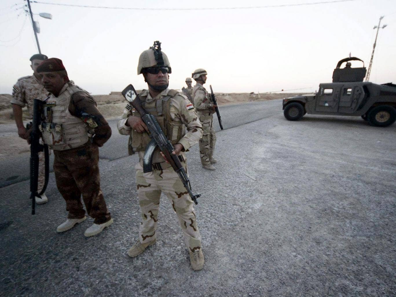 There have been claims that Iraqi soldiers have abandoned their positions along the border with Saudi Arabia