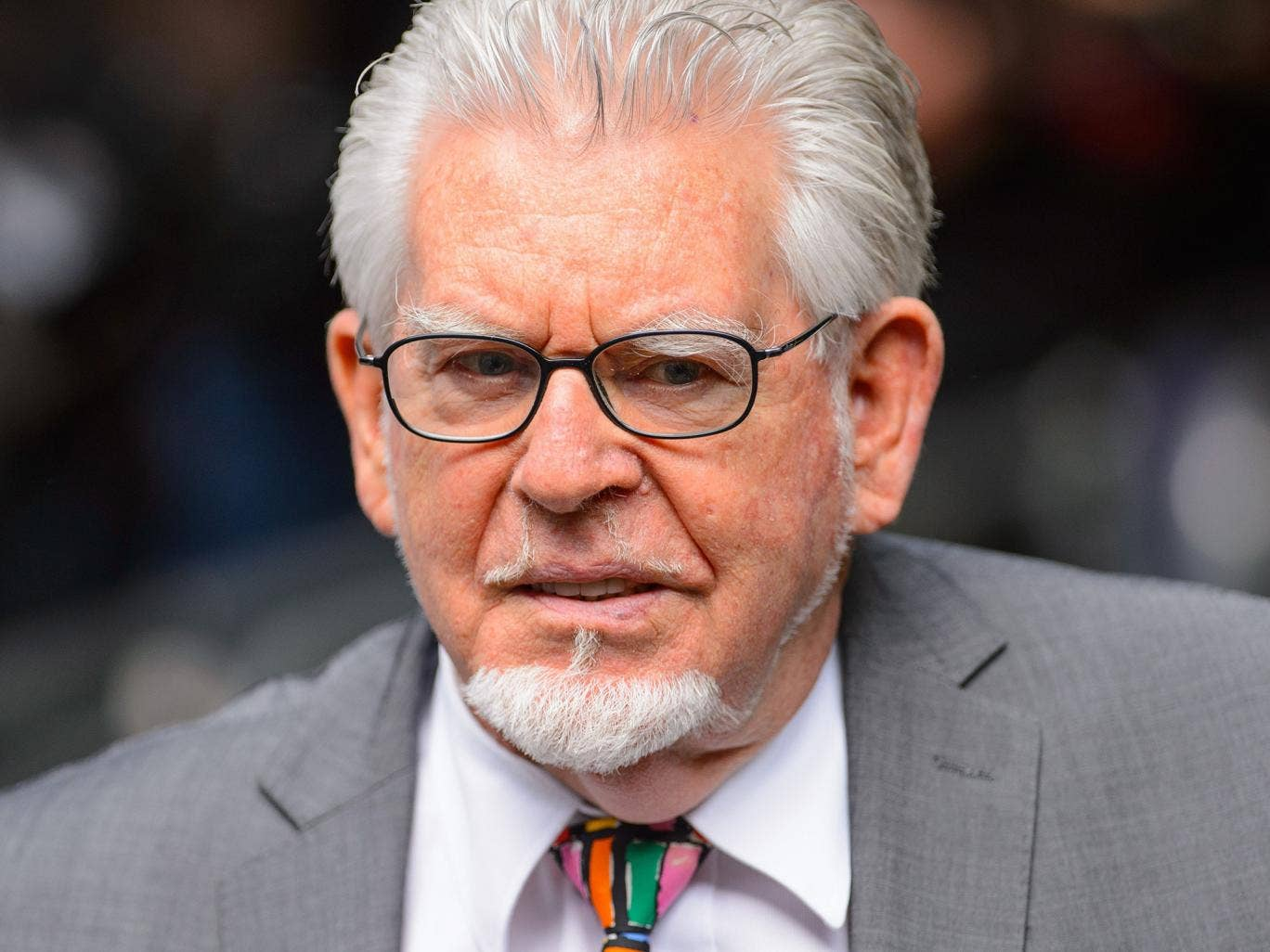 Rolf Harris arrives at Southwark Crown Court, London before the veteran entertainer is sentenced for a string of indecent assaults
