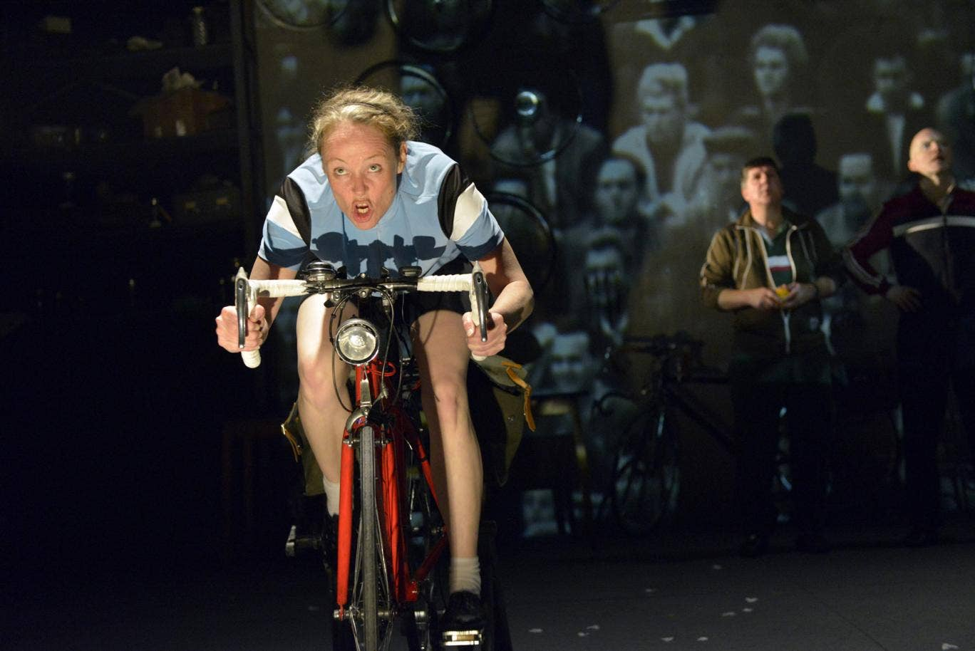 A still from 'Beryl' at the West Yorkshire Playhouse