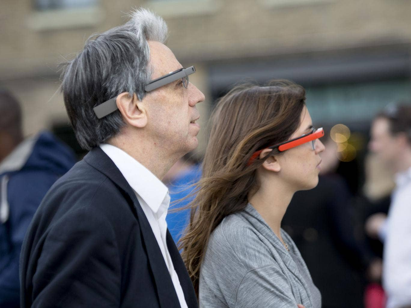 Boyd Tonkin becomes a Google Glass 'explorer' with his Glass guide Alice Cabon and tries out the wearable computer in London