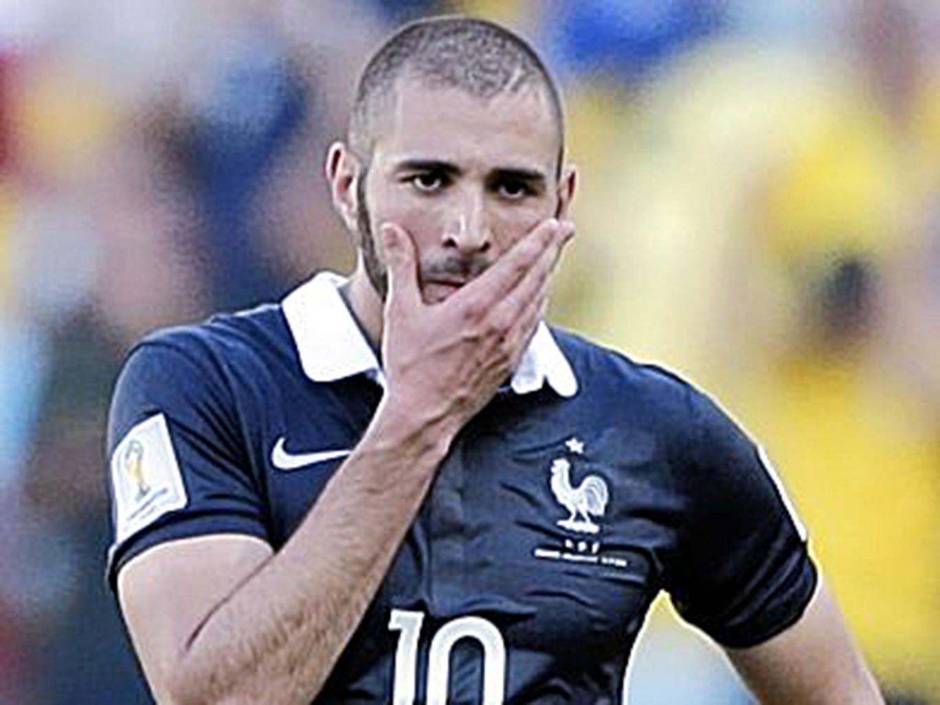 France striker Karim Benzema