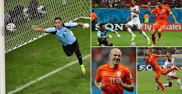 Netherlands vs Costa Rica