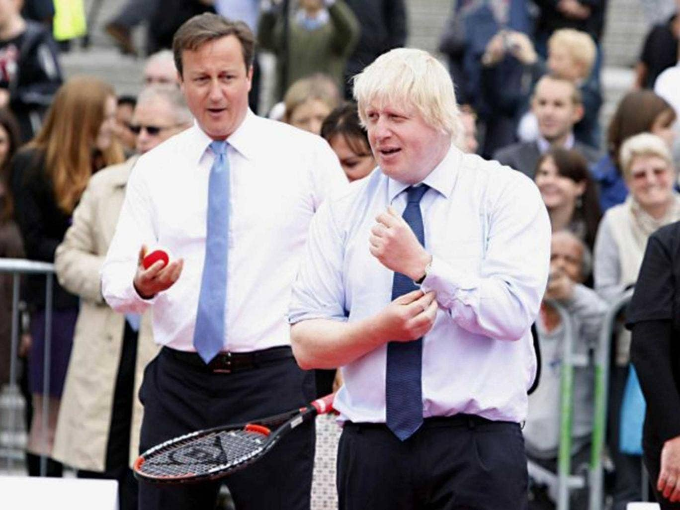 Lubov Chernukhin, a banker and the wife of a former finance minister in Putin's Russia paid £160,000 for a tennis match with Boris Johnson and David Cameron