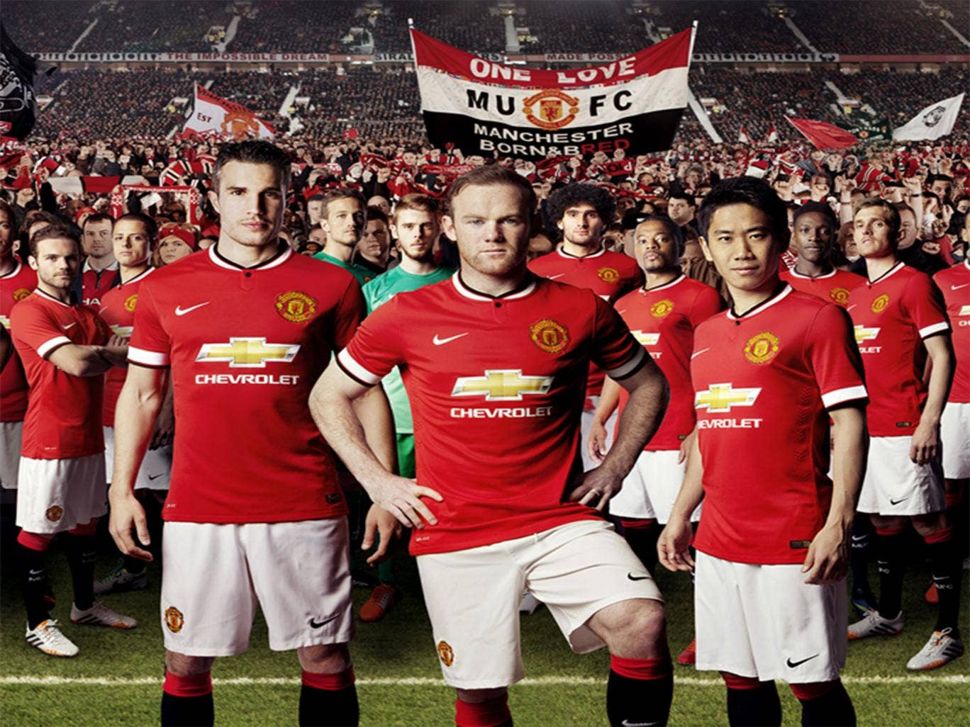 Manchester United have unveiled their new kit for the 2014/15 season