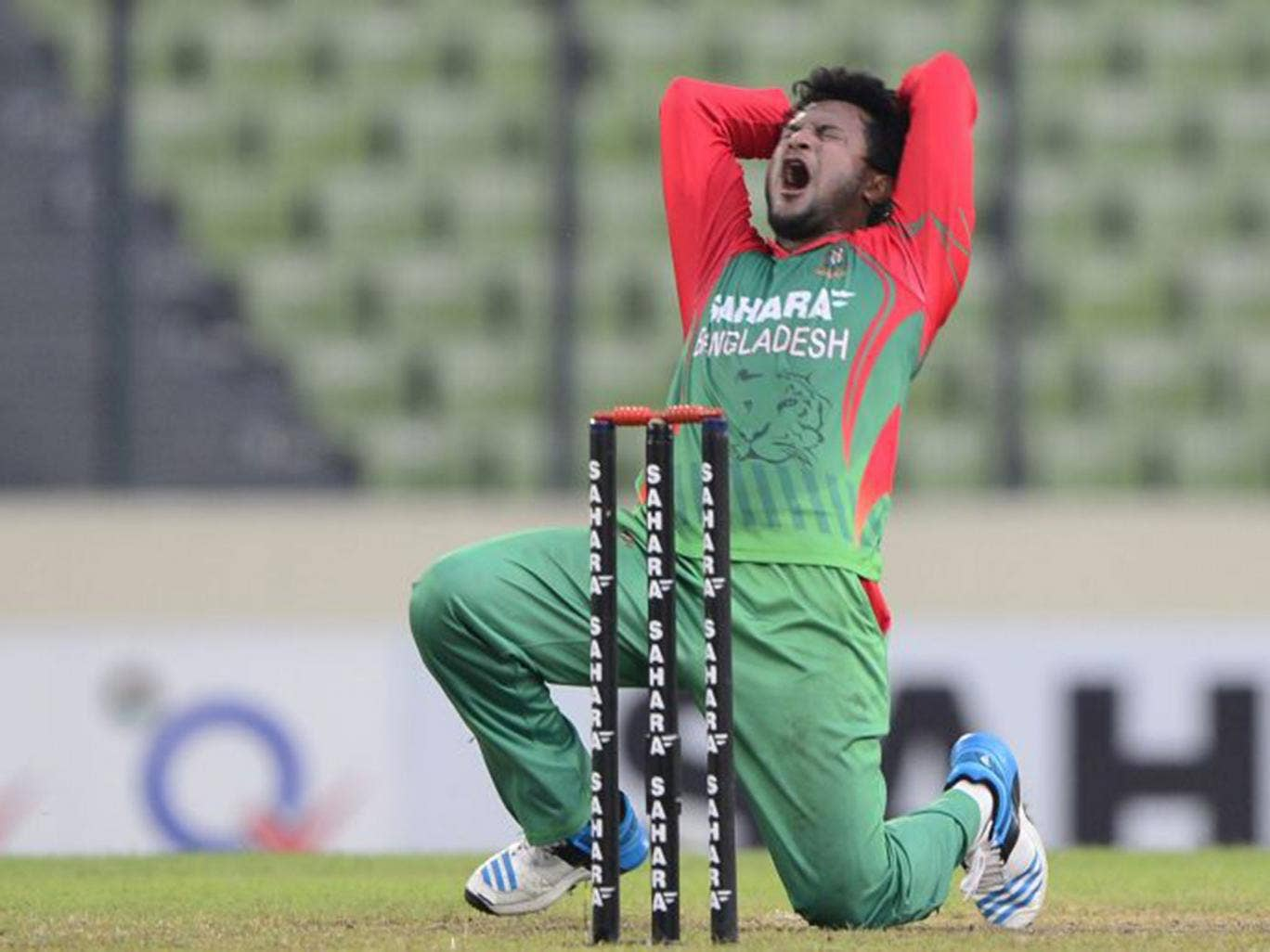 The 27-year-old all-rounder has played 34 tests and 136 one-day-internationals for Bangladesh