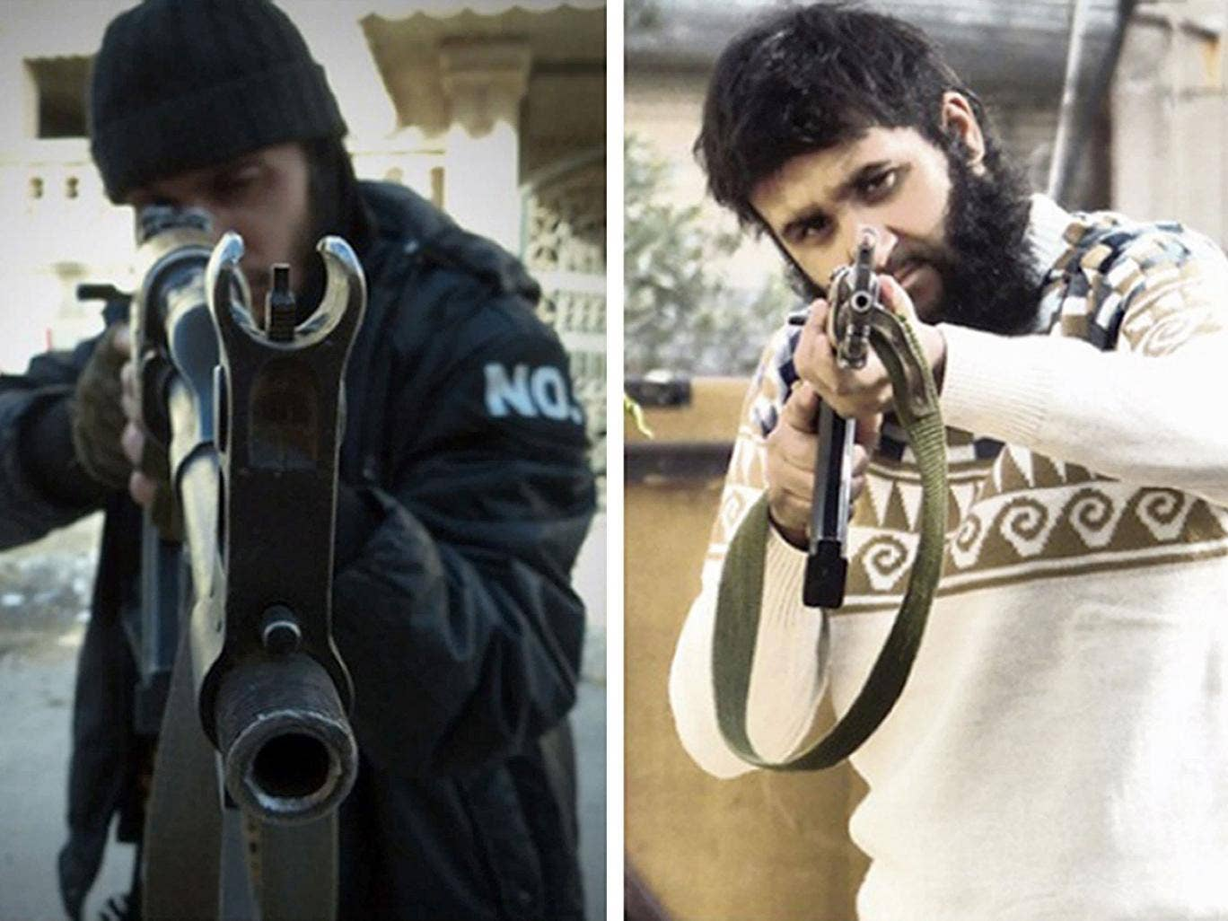 Mohammed Nahin Ahmed (left) and Yusuf Zubair Sarwar, both 22, who have admitted preparing to carry out terrorist acts after they travelled to Syria to join rebel fighters