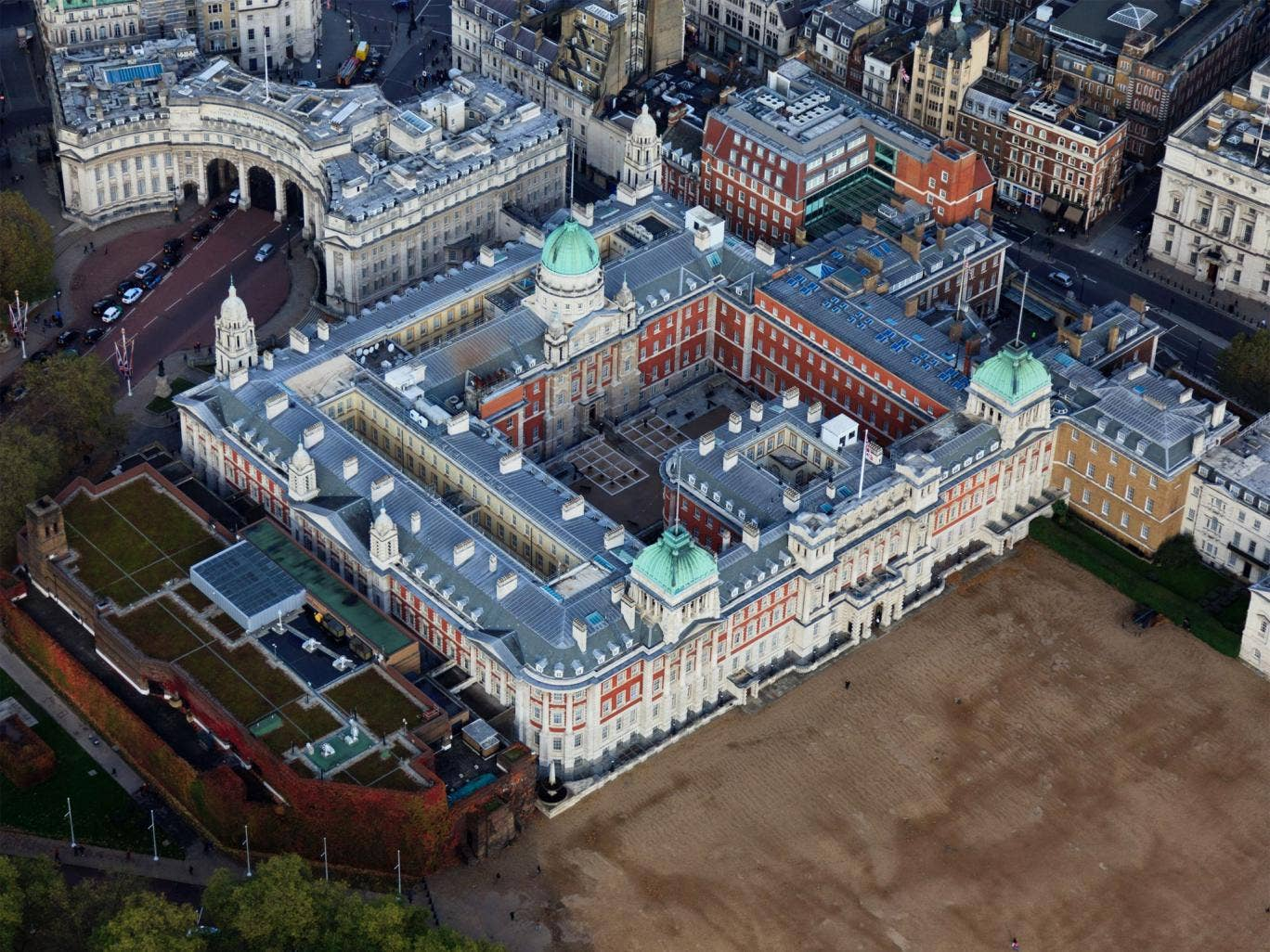 The Old Admiralty Building will be the Education Department's new home after a £5m refit