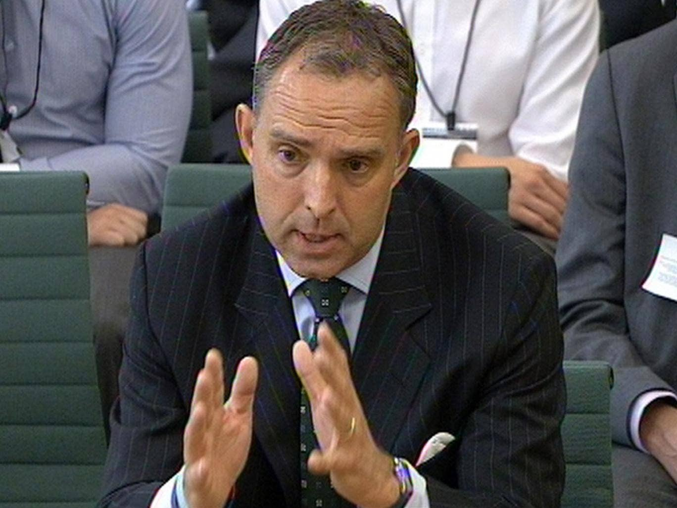 Home Office Permanent secretary Mark Sedwill appears in front of the Home Affairs Select Committee at the House of Commons