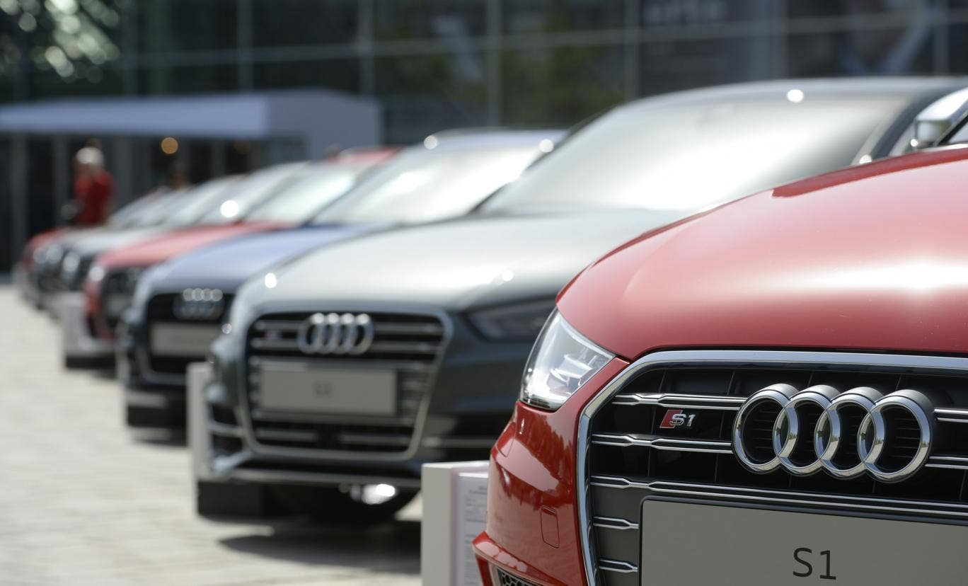 Thirty-nine Audi cars have been broken into this week in Leicestershire