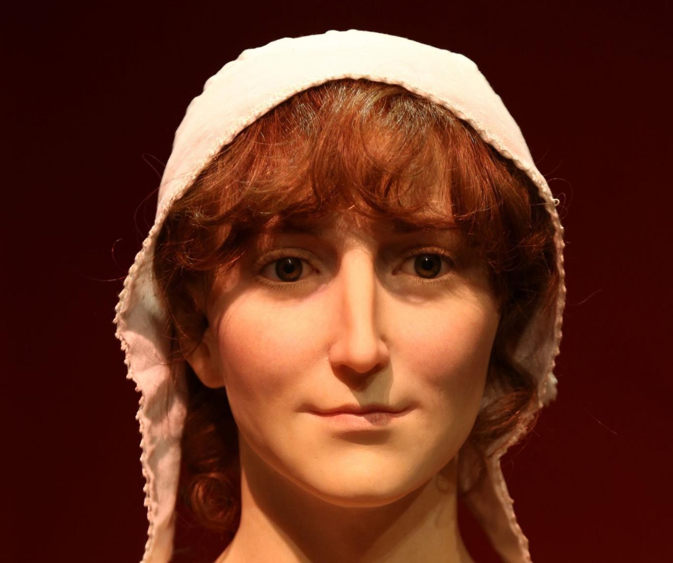 A waxwork of Jane Austen has been unveiled at The Jane Austen Centre in Bath