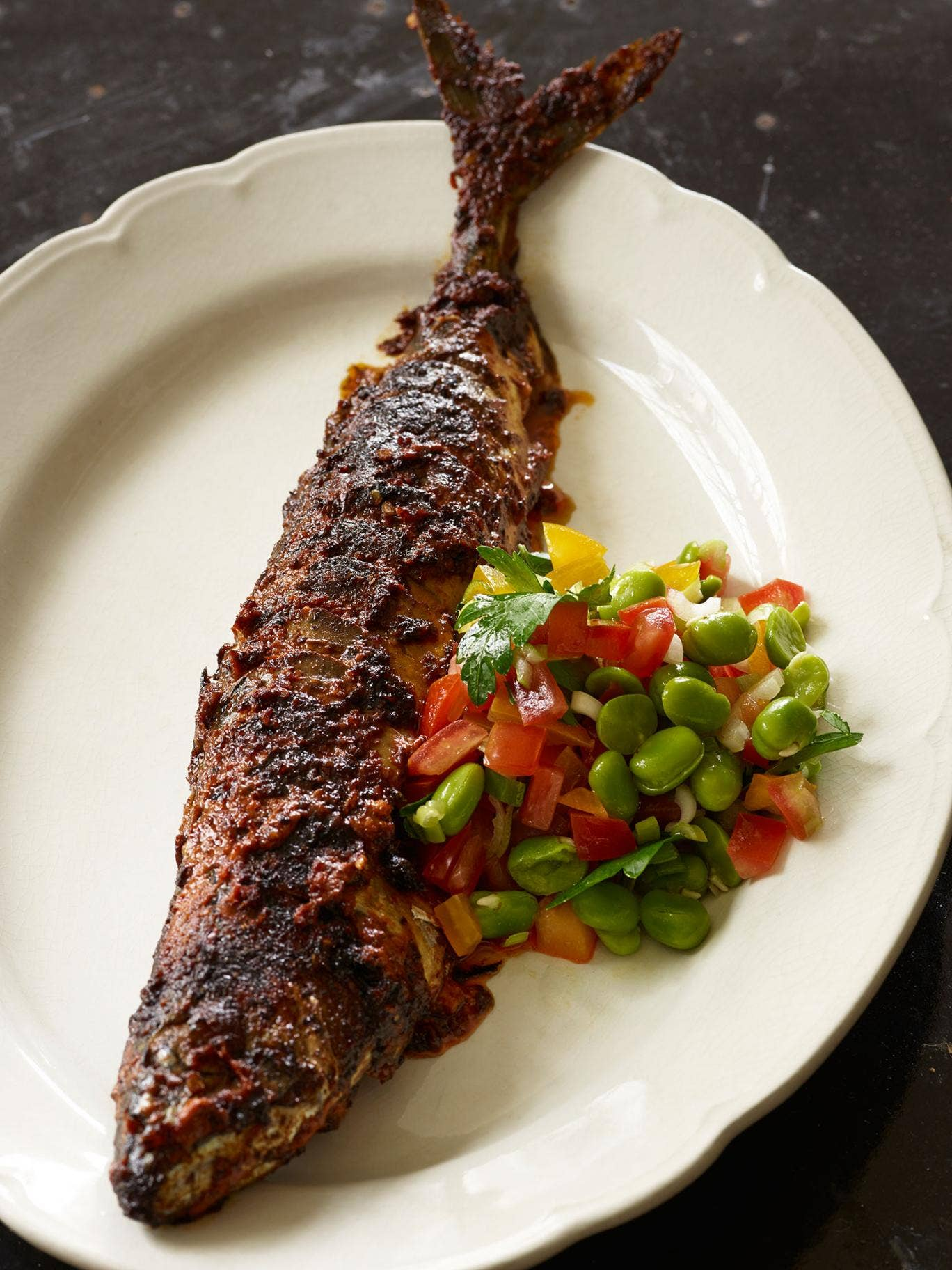 You can make Mark's mackerel piri piri as hot as you like