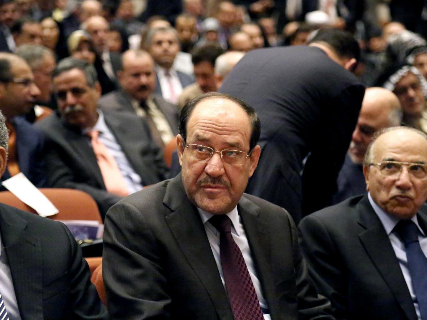The Iraqi Prime Minister Nouri al-Maliki has blamed 'conspirators' for the fall of Mosul