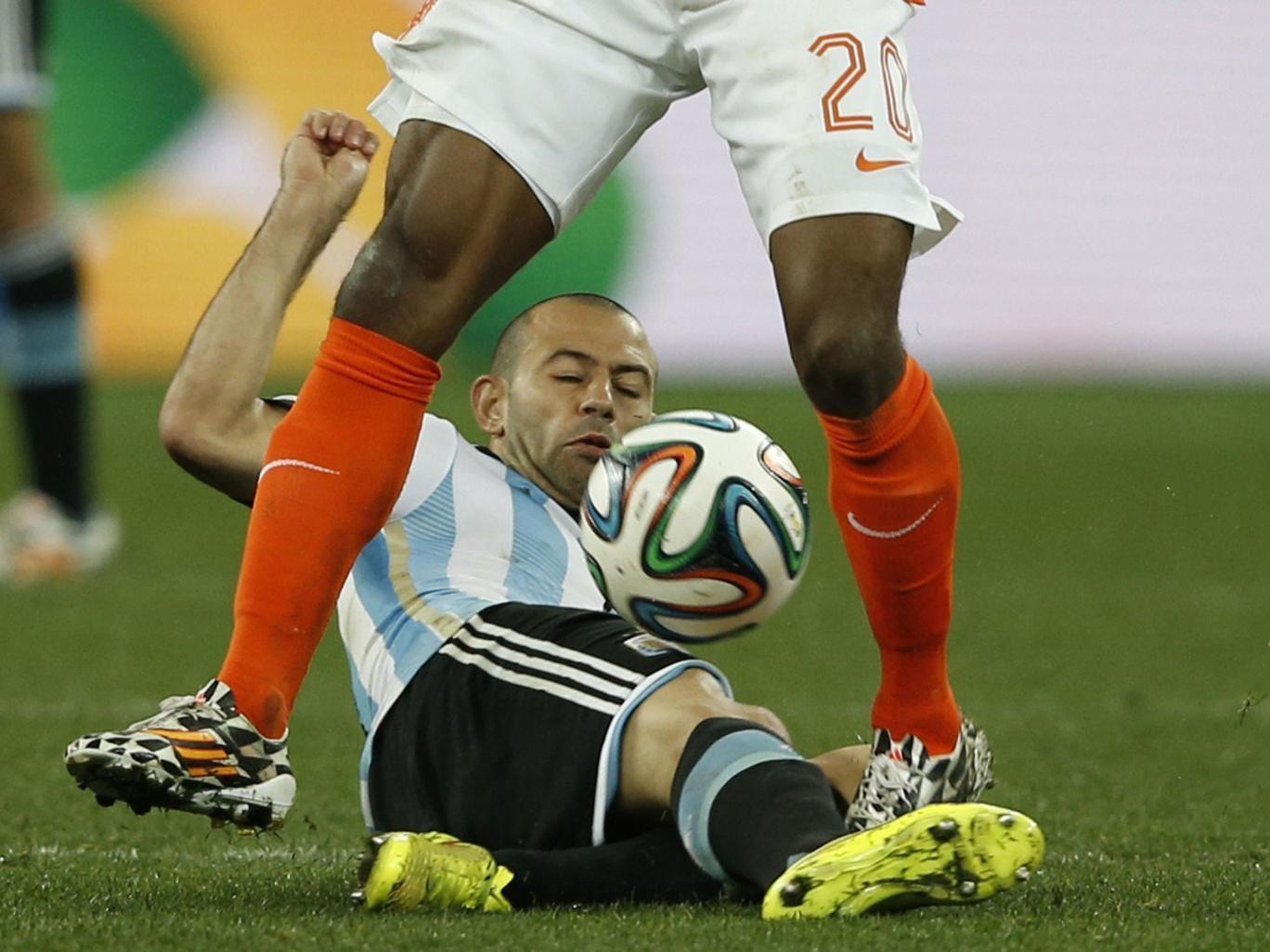 Defensive midfielder Javier Mascherano rather than Lionel Messi is Argentina's key man