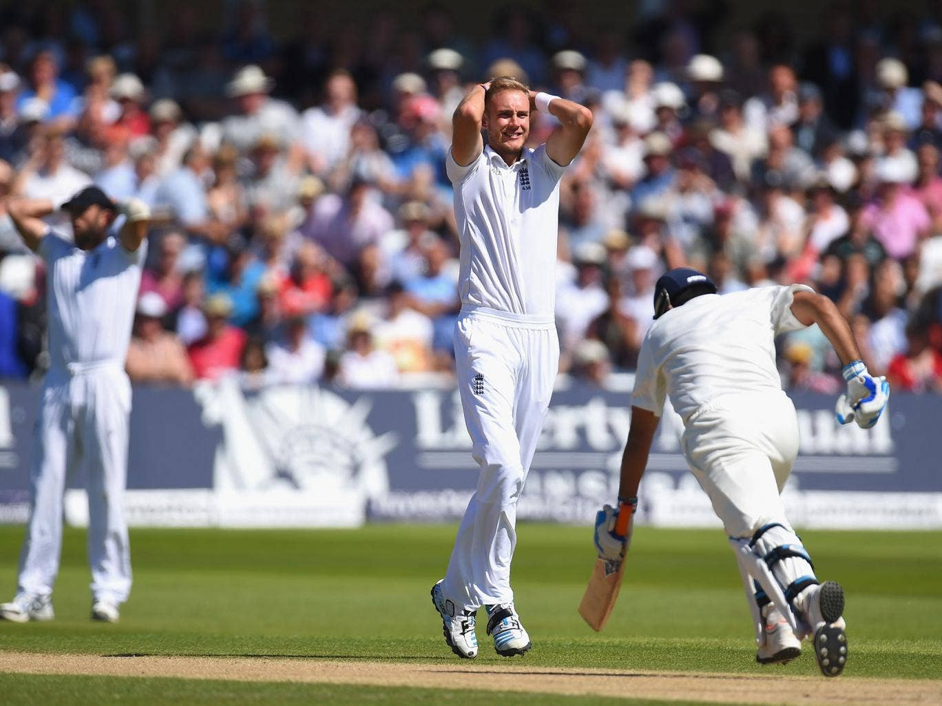 Stuart Broad has asked England fans to back their struggling captain Alastair Cook