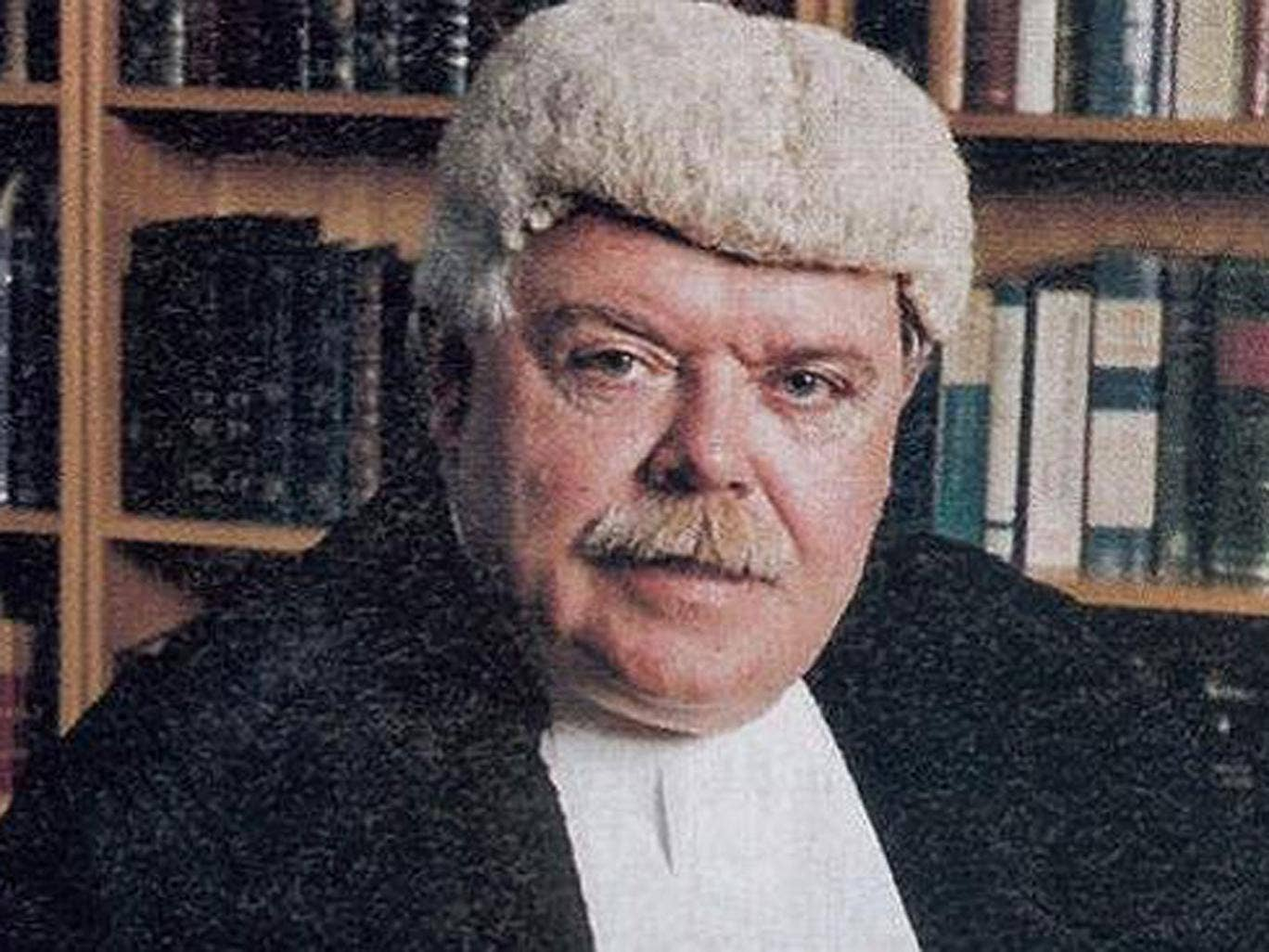 Judge Garry Neilson pictured in 2003