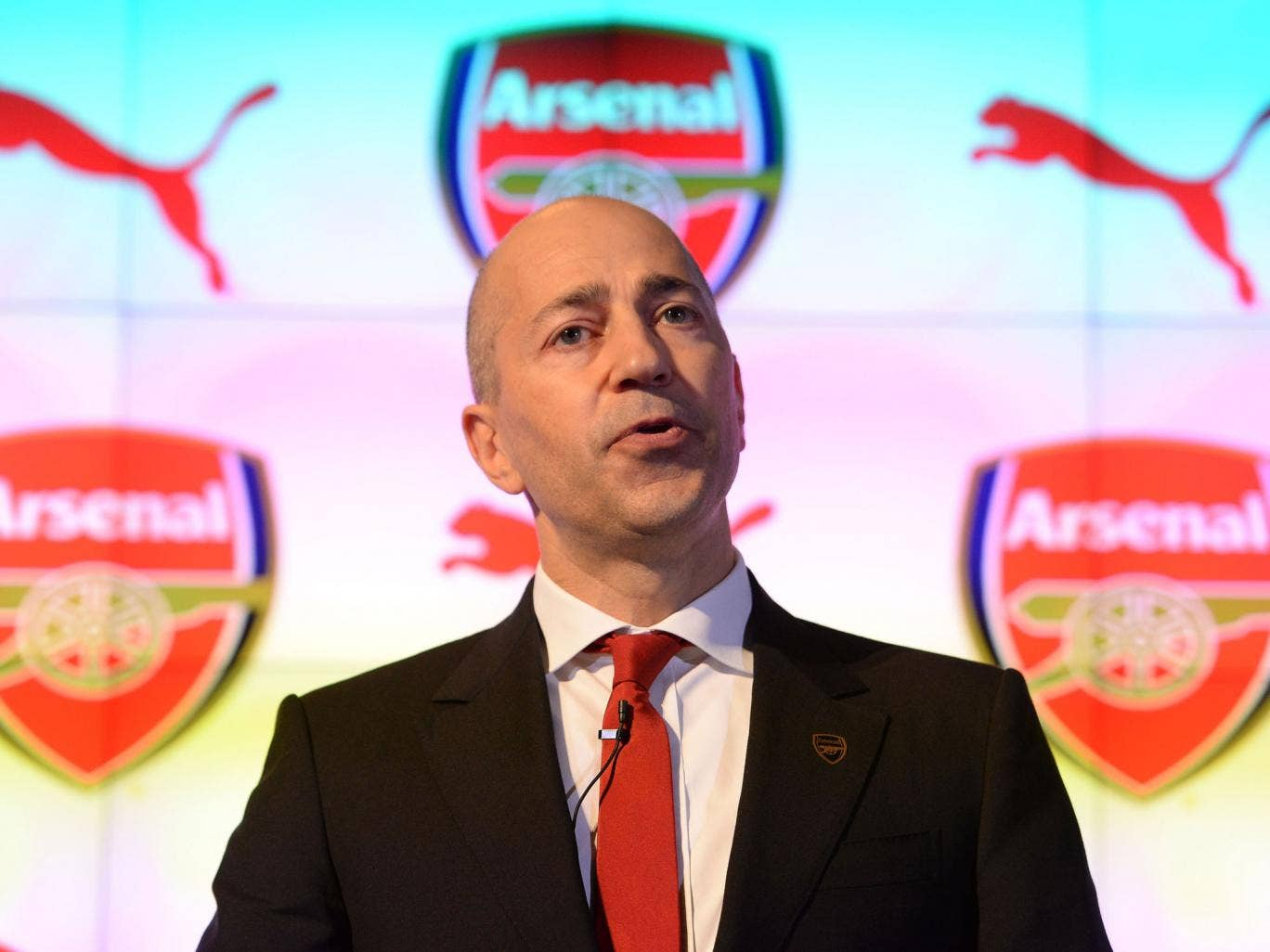 Ivan Gazidis the CEO of Arsenal