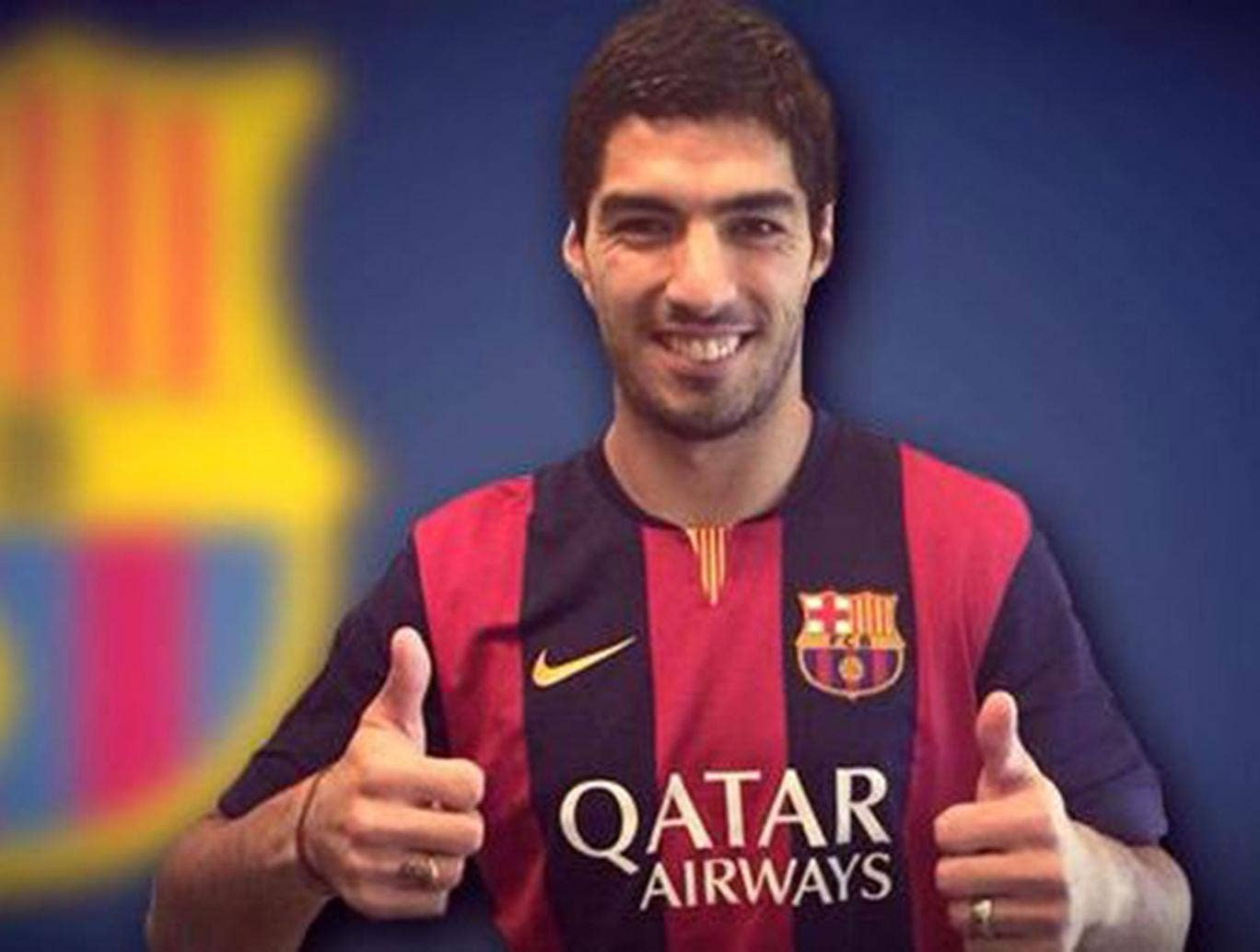 Luis Suarez has officially joined Barcelona for £75m